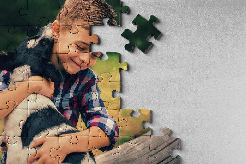 Photo gifts, puzzle, custom, design, PIcMonkey