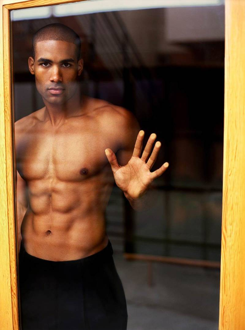 This portrait of Boris Kodjoe by Matthew Jordan Smith shows how windows can make great settings for indoor portraits.