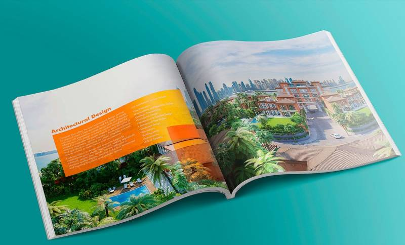 Architecture Firm Brochure Design Example