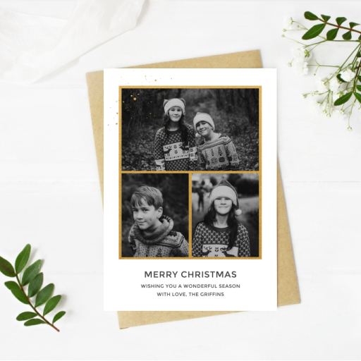 create holiday photo cards for free