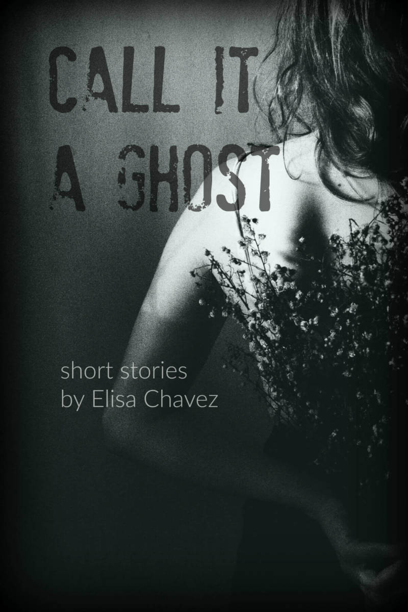 After incorporating Crystal's design tips, this ebook cover is afterliving up to its ghostly potential.