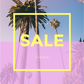 End of Summer Sale - Facebook Carousel Ad Template