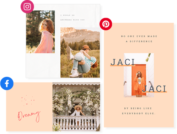 Jaci and PicMonkey Design and Social Templates