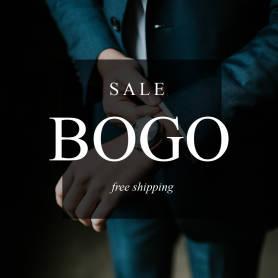 Plantilla de publicación de Instagram para anunciar la venta de ropa