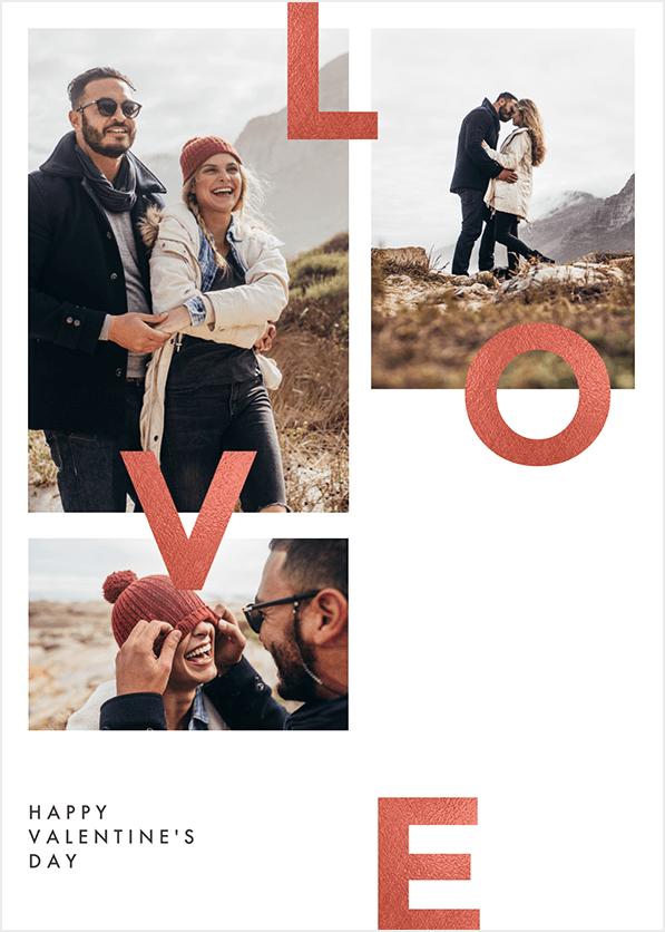 PicMonkey Valentine Photo Collage Card