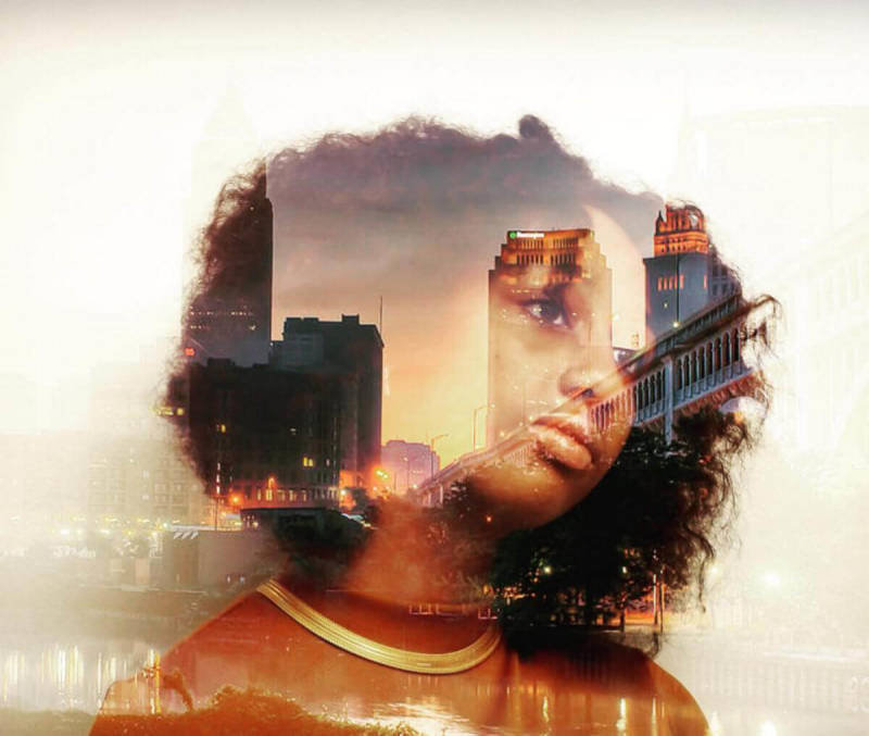 Summer students at the Center for Arts-Inspired Learning show us how to make a dreamy cityscape double exposure.