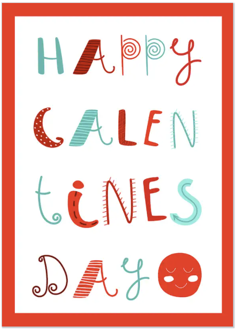 galentine's day cards and ideas cool fonts