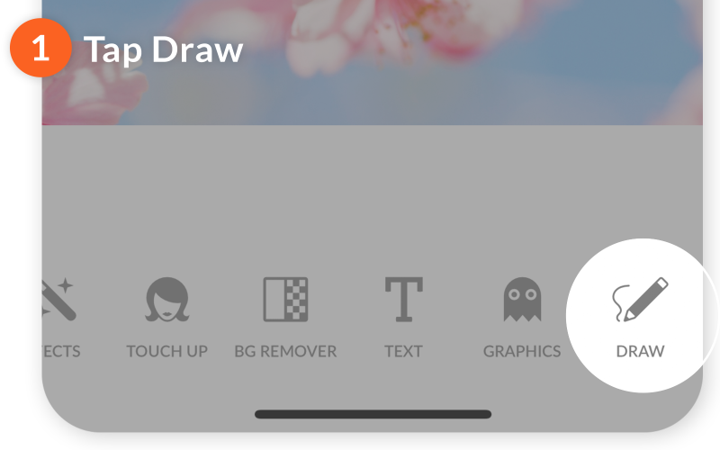 mobile how to draw 01