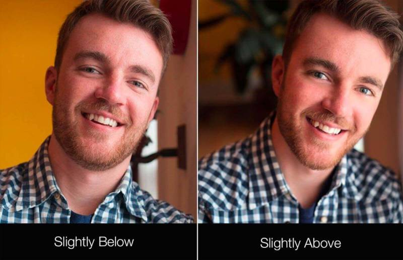 Take a professional headshot with better angles