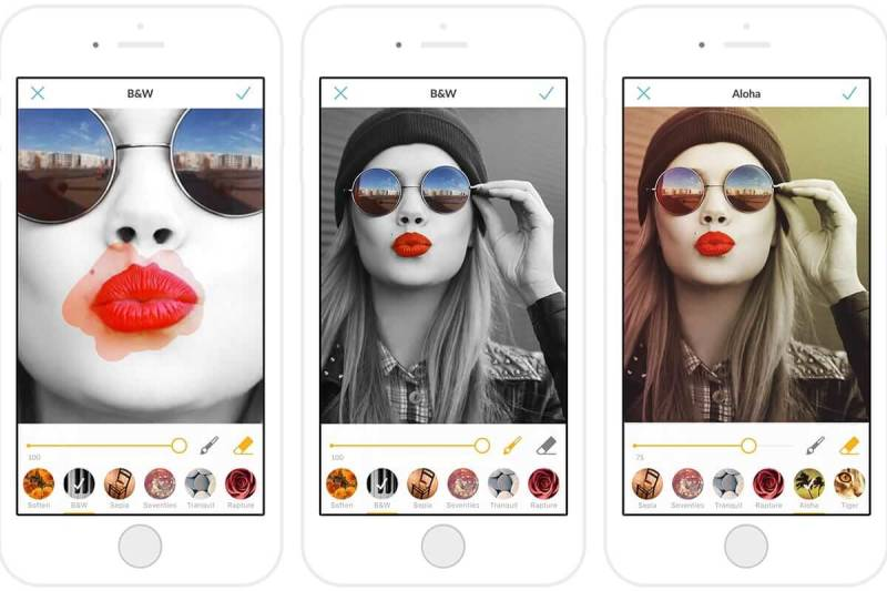 Paint on, paint off! The PicMonkey mobile app leaves room for your creativity.