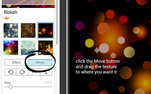 Move button in the Bokeh texture. Truly glitzy DIY invitations require Bokeh. It is known.