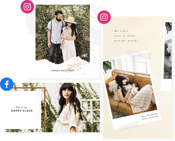 New Darlings and PicMonkey Design and Social Templates