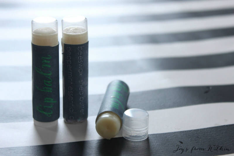 The PicMonkeyers at the blog Joy from Within share how they made labels in PicMonkey for their homemade lip balm.
