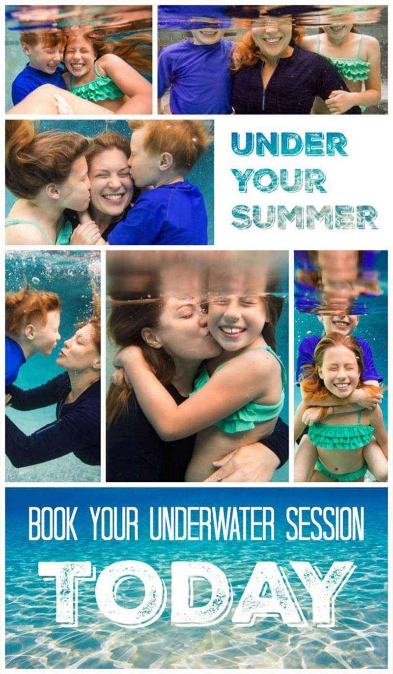 underwater, Collage