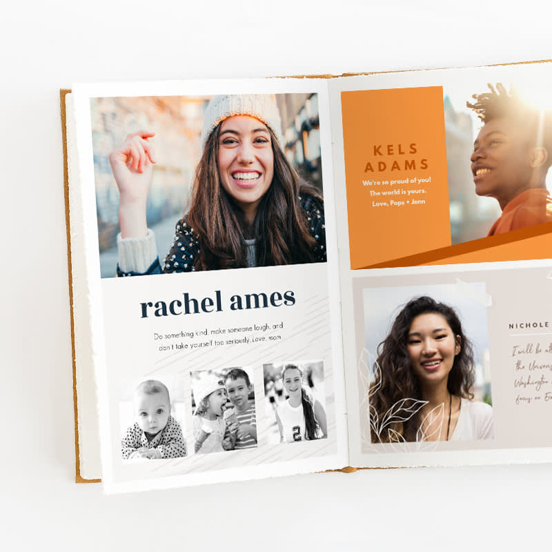 Design a Senior yearbook ad