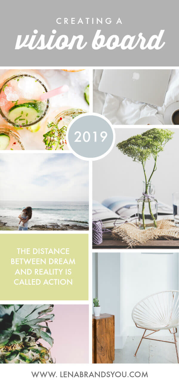 Our Goal Getter template helps you create the ultimate vision board.