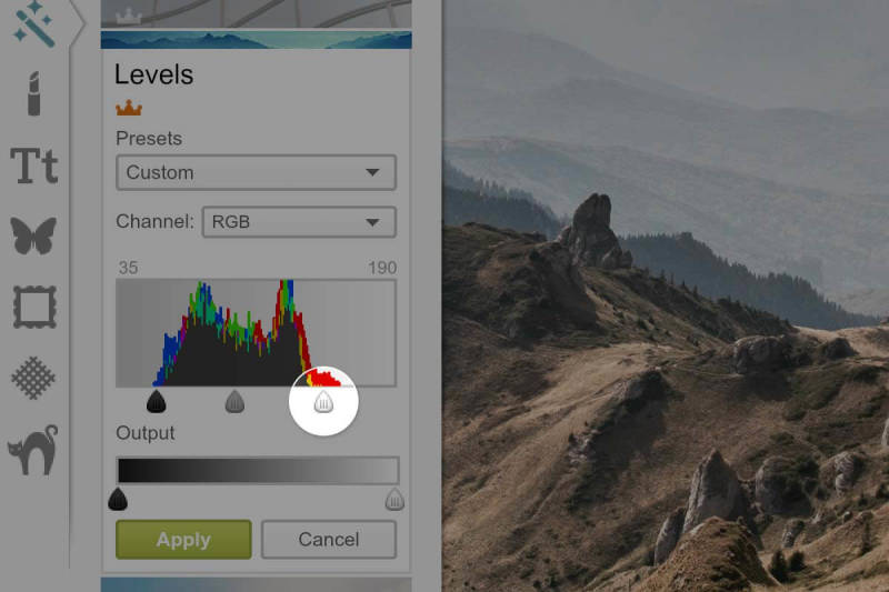 PicMonkey releases a new advanced Levels tool.