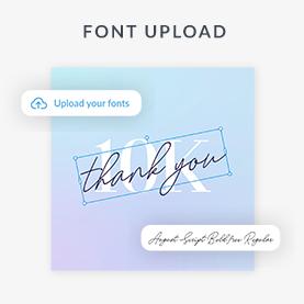 Font Upload
