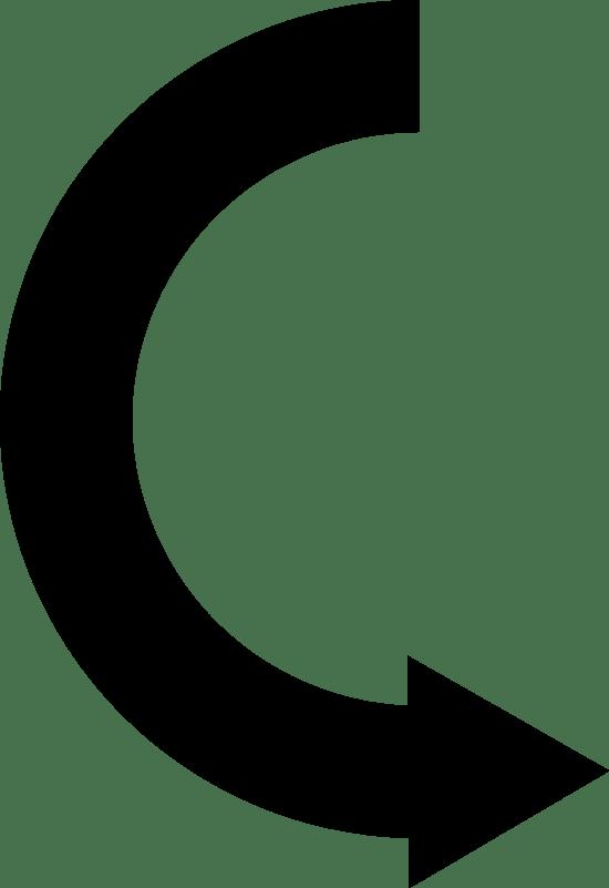 Semicircle Arrow