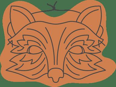 Halloween Fox Mask