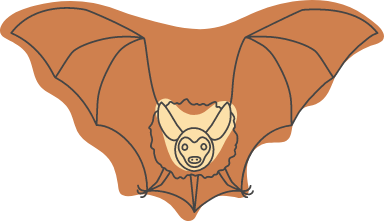 Halloween Flapping Bat