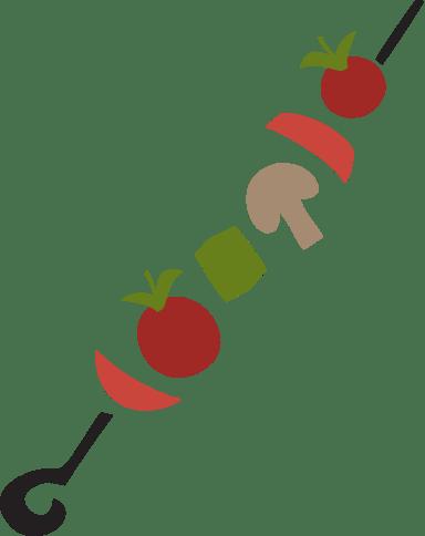 Veggie Kebab