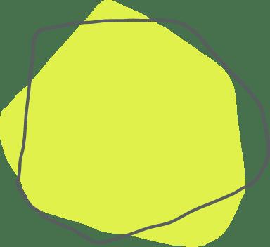 Green Blocky Shape