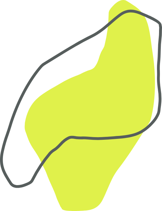 Green Amorphic Shape