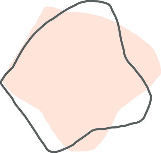 Pink Blocky Shape