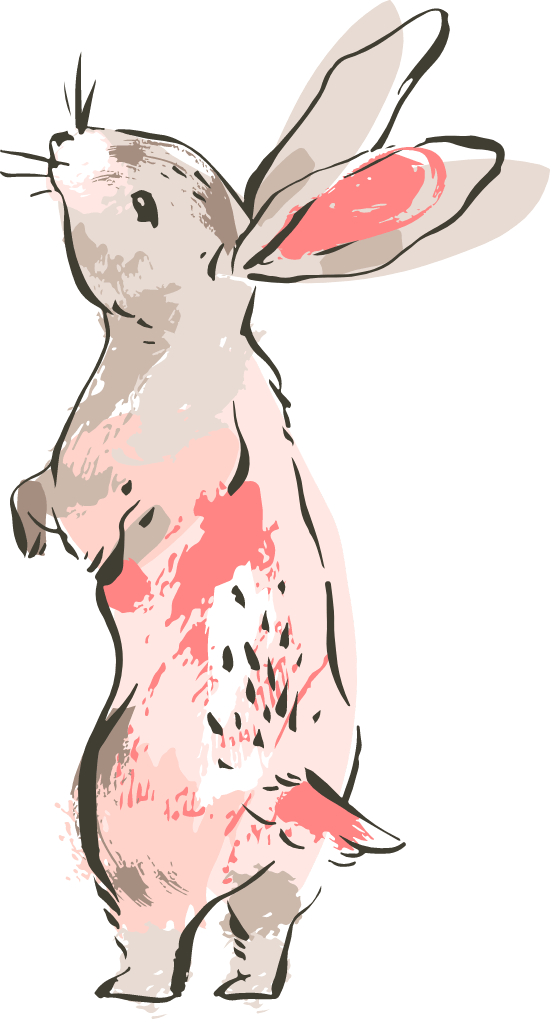 Sniffing Bunny