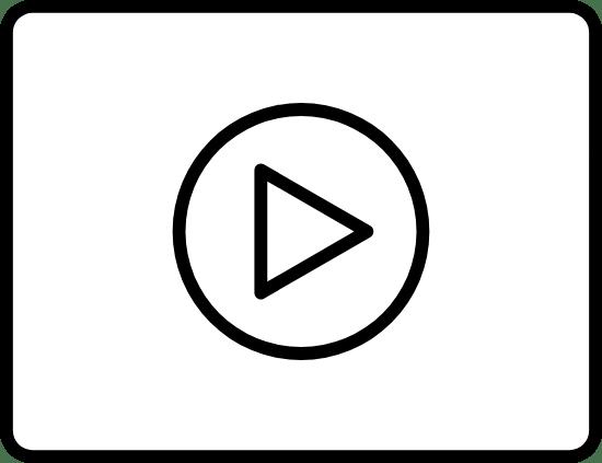 Minimal Play Button