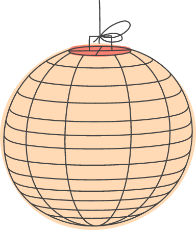 Spherical Paper Lantern