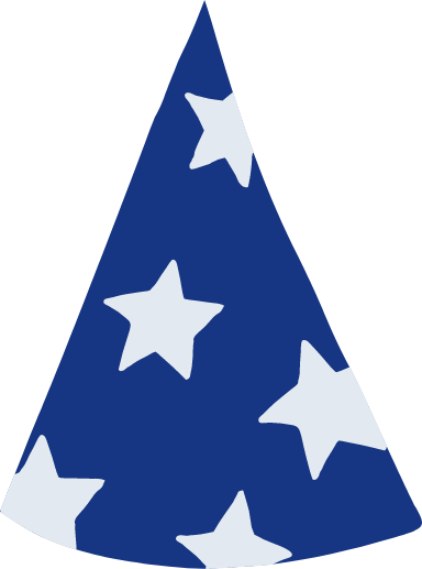Star-Spangled Party Hat