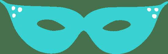 Angular Domino Mask