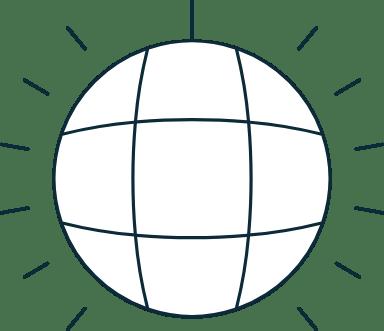 Sparse Disco Ball