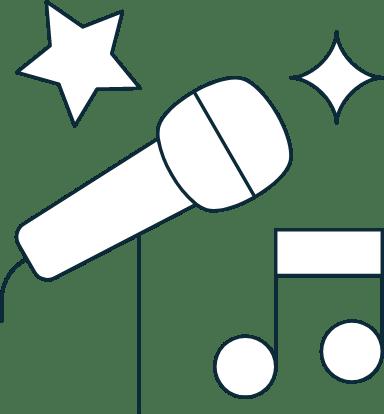 Sparse Karaoke Microphone