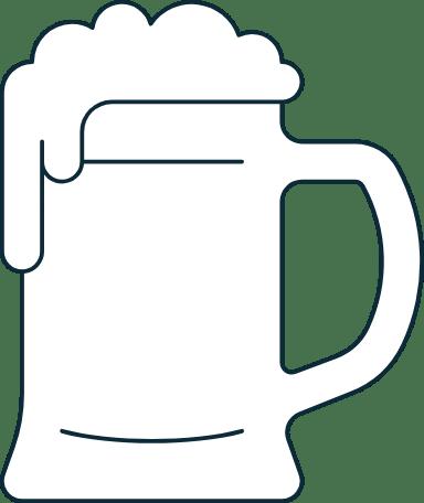 Sparse Beer Stein