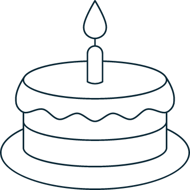 Sparse Birthday Cake