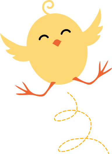 Joyous Chick
