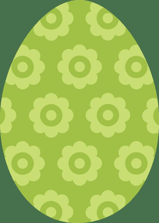 Flowered Egg