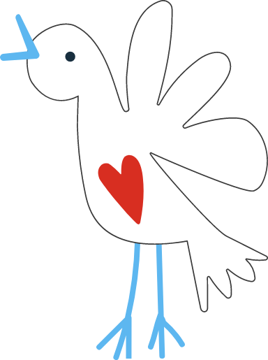 Heart Dove