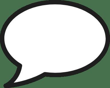 Contact Speech Bubble
