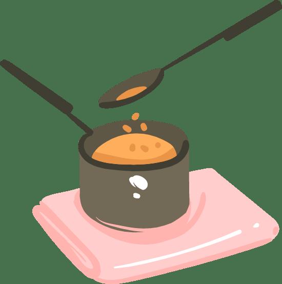 Hot Pot & Spoon