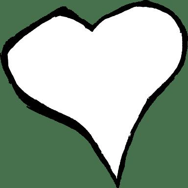 Festive Wobbly Heart
