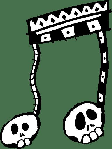 Festive Skull Bridge