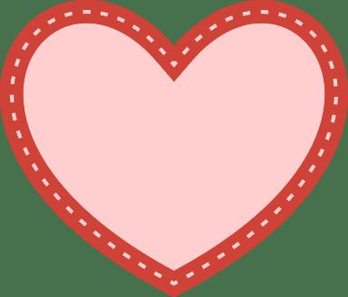 Bordered Heart