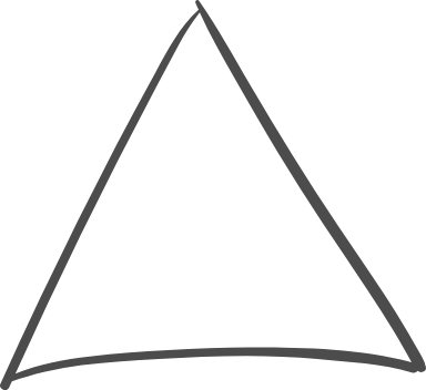 Organic Triangle Doodle