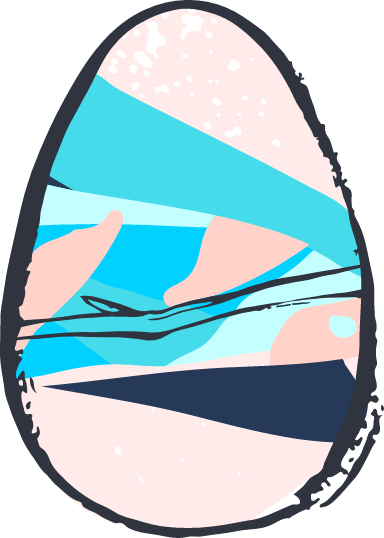 Distinctive Egg