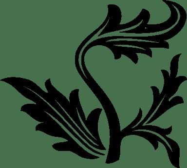 Leafy Branch Left