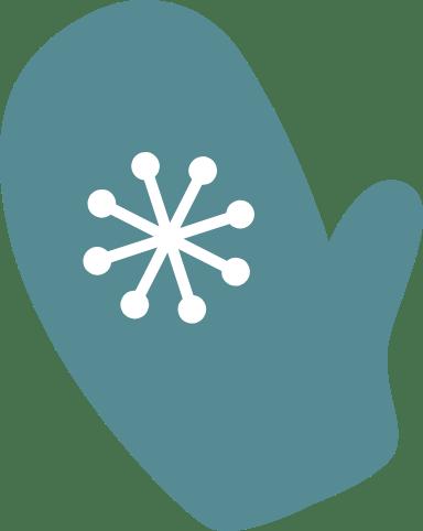 Snowflake Mitten